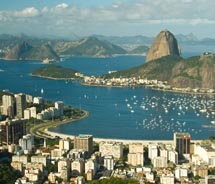 Panoramic Photo of Rio De Janero // © 2012 Ascom Riotur