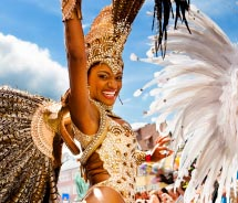 Rio de Janeiro hosts one of the world's wildest Carnival celebrations // © 2012 Val Thoermer/Shutterstock.com