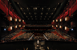 A view from the stage at the Seattle Opera // (c) Bill Mohn