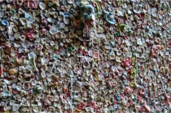 Photo: Seattle Gum Wall // (c) 2008