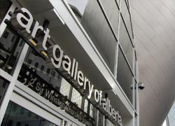 The Art Gallery of Alberta recently reopened this January. // (C) 2010 Joe Vare
