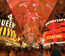 The Fremont Street Experience continues to impress // (c) 2010 Fremont Street Experience