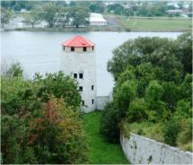 One of four Martello towers built in Kingston to defend the harbor // © 2010 Pride Travel / S. Nathan DePetris