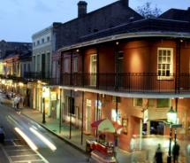 Visitors should head to Bourbon Street for lively entertainment // © 2011 New Orleans Convention & Visitors Bureau