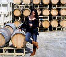 Wine barrels at the Koehler Winery // © 2011, Emily McManus