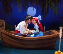 Kiss the Girl from The Little Mermaid - Ariel's Undersea Adventure at Disney's California Adventure // (c) 2011 Disney