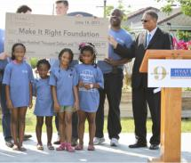 Hyatt Regency New Orleans and Make It Right announced their fundraising campaign to complete Make It Right's goal to build 150...