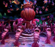 The Sea Creature Chorus from The Little Mermaid - Ariel's Undersea Adventure at Disney's California Adventure // (c) 2011 Disney