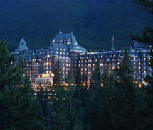 The Fairmont Banff Springs Hotel is home to several fine-dining restaurants. // (c) 2012 Greg Olsen