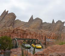 Radiator Springs Racers is one of the highlights of the new Cars Land. // c 2012 Kenneth Shapiro