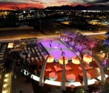 This winter, W Scottsdale will transform its WET pool deck into a hybrid ice rink. // (c) 2012 W Scottsdale