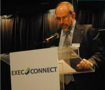 Editor-in-Chief Kenneth Shapiro at ExecConnect // (c) 2011 TravelAge West