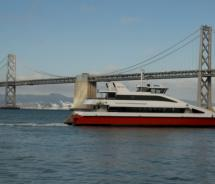 Ferries, like the Pisces, ply the San Francisco Bay // (c) 2011 Barrie Rokeach/WETA