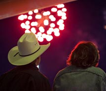 The Calgary Stampede will feature a huge fireworks show. // © 2012 Calgary Stampede