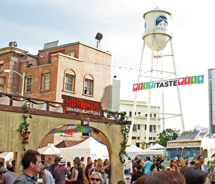 The Taste event, Street Eats, was held at Paramount Studios in Hollywood, Calif. // © 2011 Mindy Poder