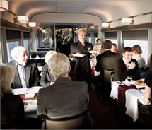 VIA Rail Canada has new culinary offerings. // (c) 2012 VIA Rail Canada