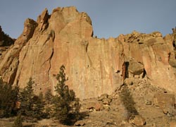 Smith Rock State Park is ideal for rock-climbing and hiking. // © Mindy Poder 2010