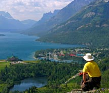 Waterton Lakes National Park is known for its hiking trails. // © 2010 Travel Alberta<br />