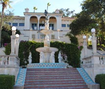 Hearst Castle looms over California's northern coastline // © 2010 Janeen Christoff