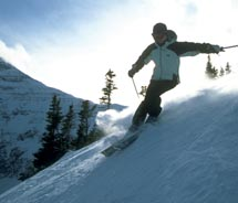 Castle Mountain ski resort is a local favorite with the potential to be the next big thing. // © 2011 Travel Alberta