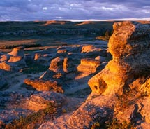 Writing-on-Stone Provincial Park is significant for its First Nations' history. // © 2011 wild prairie man