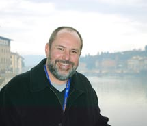 Ken Shapiro in Florence, Italy, as part of a trip with Costa Cruise Line. // (c) 2010 Ken Shapiro