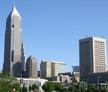 Downtown Cleveland's charms extend beyond the North Coast District. // © 2011 Monica Poling