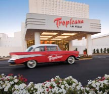 The new Tropicana Las Vegas has a South Beach vibe. // © 2012 Tropicana Las Vegas