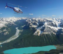 Kananaskis Heli Tours has a wide range of offerings for clients. // © 2012 Kananaskis Heli Tours