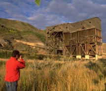 Atlas Coal Mine National Historic Site, East Coulee // © 2012  Travel Alberta