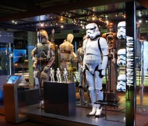 "A new exhibit in Edmonton is based on the iconic ""Star Wars"" movie franchise. // © 2012 Lucasfilm Ltd."