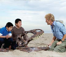 Travel Alberta brought a taste of Dinosaur Provincial Park to Southern California. // © 2012 Travel Alberta