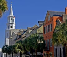 The city of Charleston is easy to explore on foot.  // © Thinkstock
