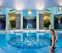 The Willow Stream Spa at the Fairmont Banff Springs features world-class facilities.  // © 2011 Fairmont hotels