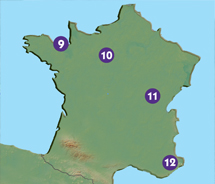 Can you map your way in France?