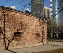 This structure in Battery Park just celebrated its 200th birthday. What is it?// © 2011 christiNYCa