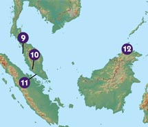 Can you map your way in Malaysia?