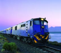The most common route of this legendary train runs between which two cities? // © 2012 The Blue Train