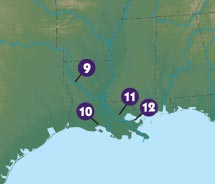 Can you map your way in Louisiana?