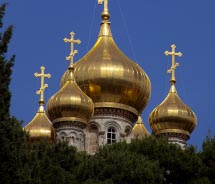 The Russian Orthodox Church of Saint Mary Magdalene is located on which Israeli mount? // © 2012 Thinkstock