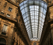 This shopping arcade, a famous landmark of Milan, was named for Italy's first king. Who was he? // © 2012 thinkstock