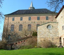 This castle in Oslo is home to museums and the tombs of Norwegian royalty. What is its name? // © 2012 IStock