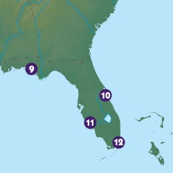 Can you map your way in Florida?