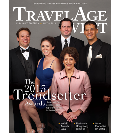July 8, 2013 Issue Cover Image // (c) 2013 TravelAge West