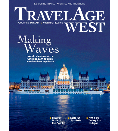 November 25 Issue Cover Image // (c) 2013 TravelAge West