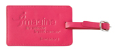 Breast cancer luggage tag