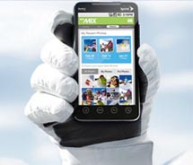 Once guests receive their RF-enabled ticket, they can download the free smartphone app. // © 2011 Vail Resorts