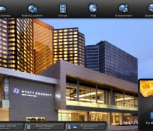 Guests will have access to a range of options, including interactive entertainment.// © 2012 Hyatt Hotels