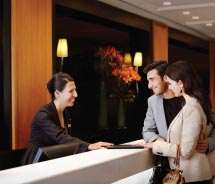 Delta Diamond and Platinum members are now entitled to SPG check-in and more. // © 2013 Starwood Hotels & Resorts Worldwide Inc.