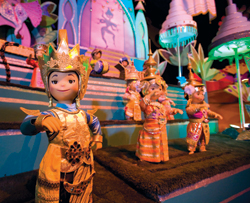 Disneyland's It's a Small World has reopened with a slightly new look. // (c) Disney
